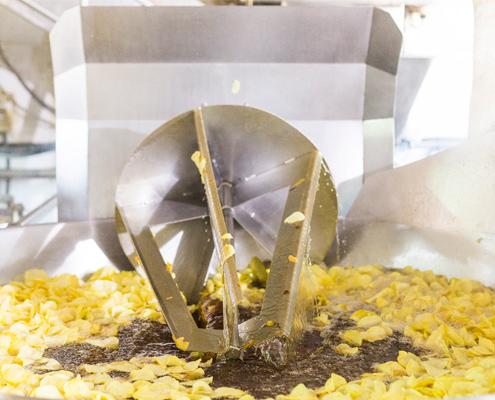 fabrica de patatas fritas chips