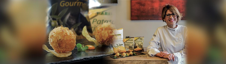receta con patatas fritas de bolsa