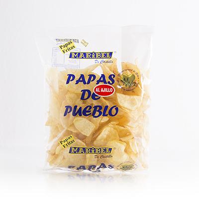 patatas fritas de sabores
