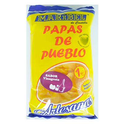 patatas fritas sabor vinagreta